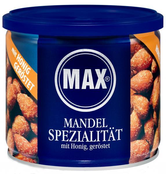 Max Mandelspezialität mit Honig geröstet