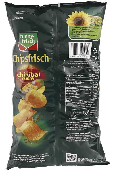 Funny-frisch Chipsfrisch Chikibai Curry Sweet & Spicy