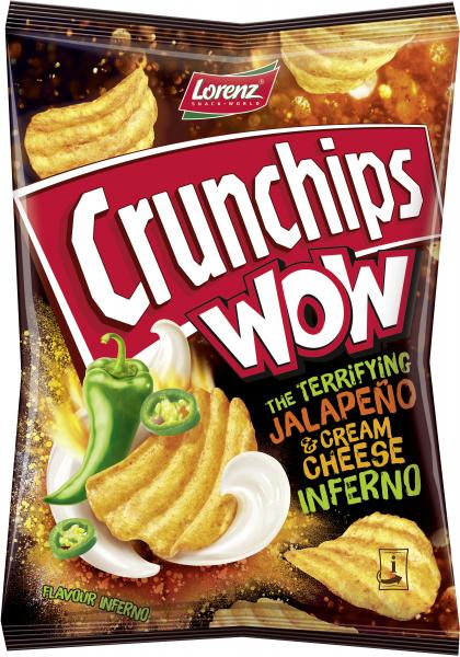 Lorenz Crunchips Wow Jalapeno