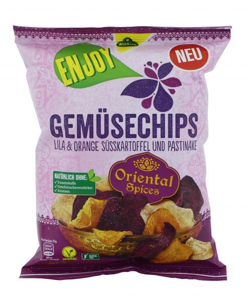 Kühne Enjoy Gemüsechips Oriental Spices