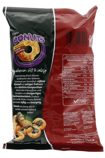 Funny-frisch Donuts Erdnuss karamellisiert süß & salzig