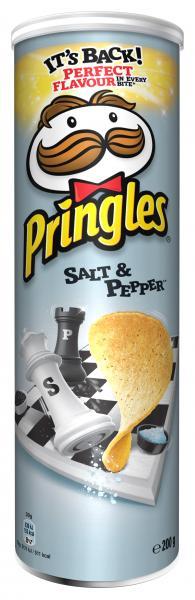 Pringles Salt & Pepper