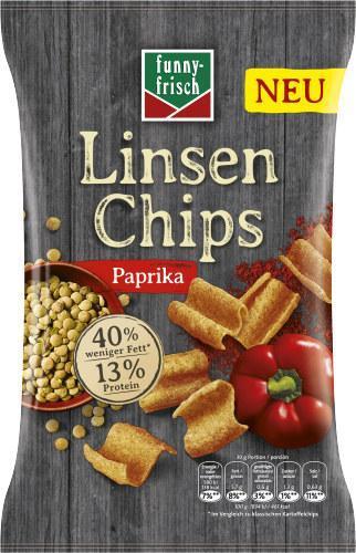 Funny-frisch Linsen Chips Paprika