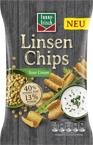 Funny-frisch Linsen Chips Sour Cream