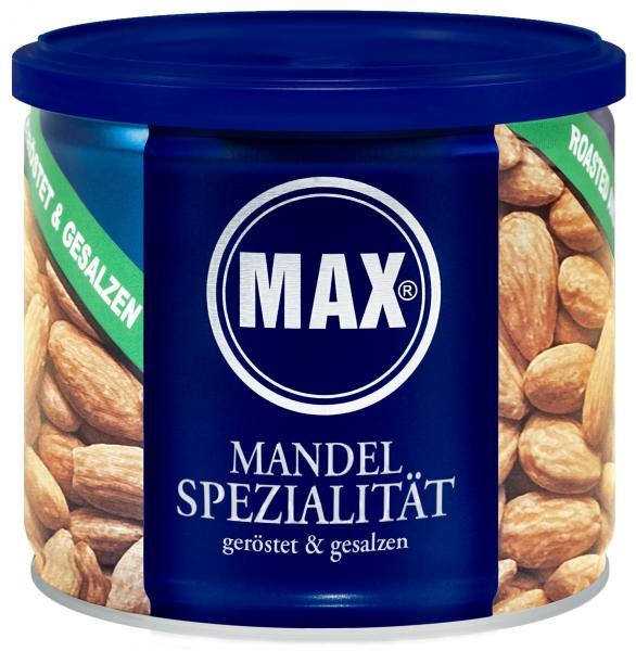 Max Mandelspezialität geröstet & gesalzen