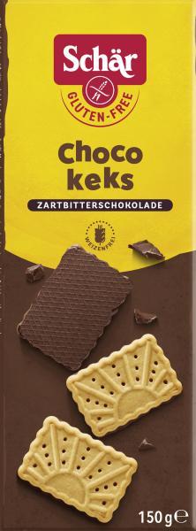 Schär Choco Keks Zartbitterschokolade