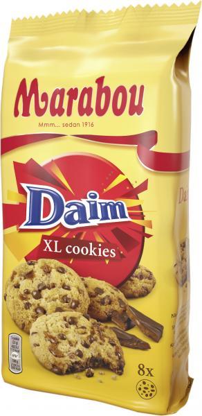 Marabou XL Cookies Daim