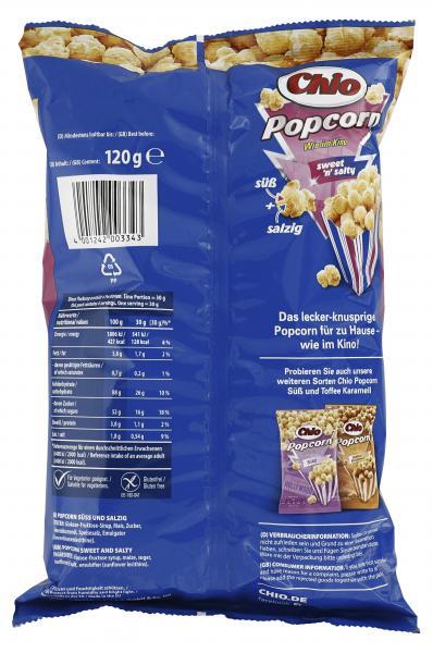 Chio Popcorn Sweet 'n' Salty
