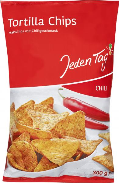 Jeden Tag Tortilla Chips Chili