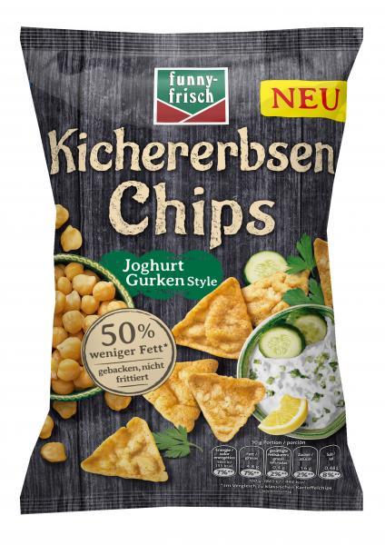 Funny-frisch Kichererbsen Chips Joghurt Gurken