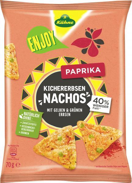 Kühne Enjoy Kichererbsen Nachos Paprika