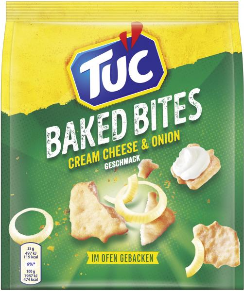 Tuc Baked Bites Cream Cheese & Onion
