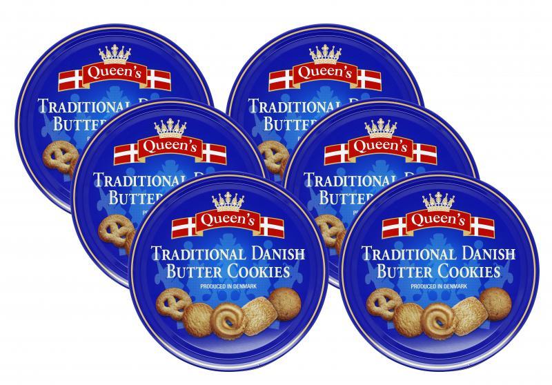 Queen's Danish Buttercookies