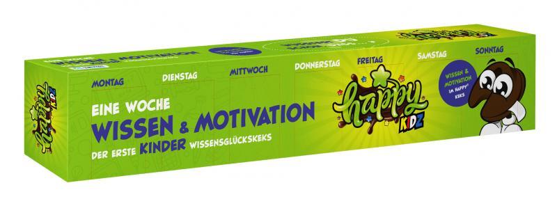 Happy Kidz Eine Woche Wissen & Motivation Wissensglückskeks
