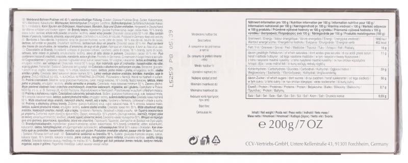 Caractere Weinbrandbohnen