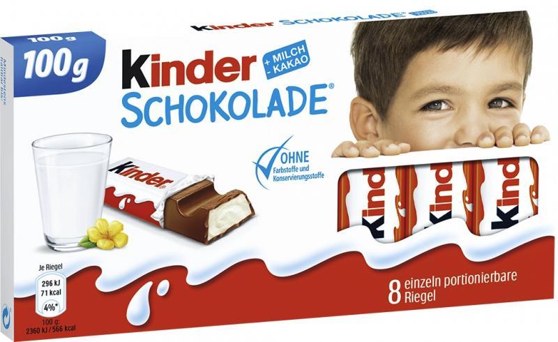 Kinder Schokolade