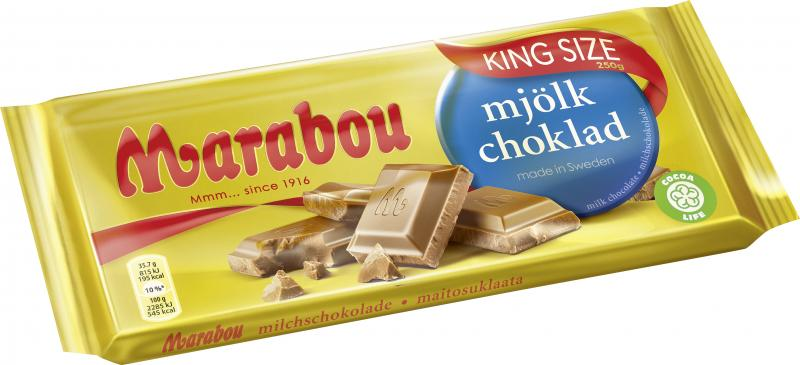 Marabou Mjölkchoklad Vollmilch King Size