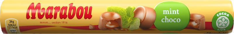 Marabou Mint choco Milchschokolade