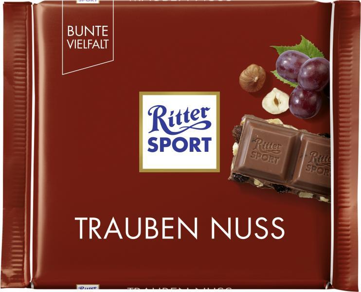 Ritter Sport Bunte Vielfalt Trauben Nuss