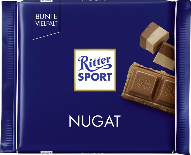 Ritter Sport Bunte Vielfalt Nugat