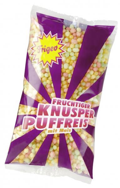 Frigeo Fruchtiger Knusper-Puffreis mit Mais