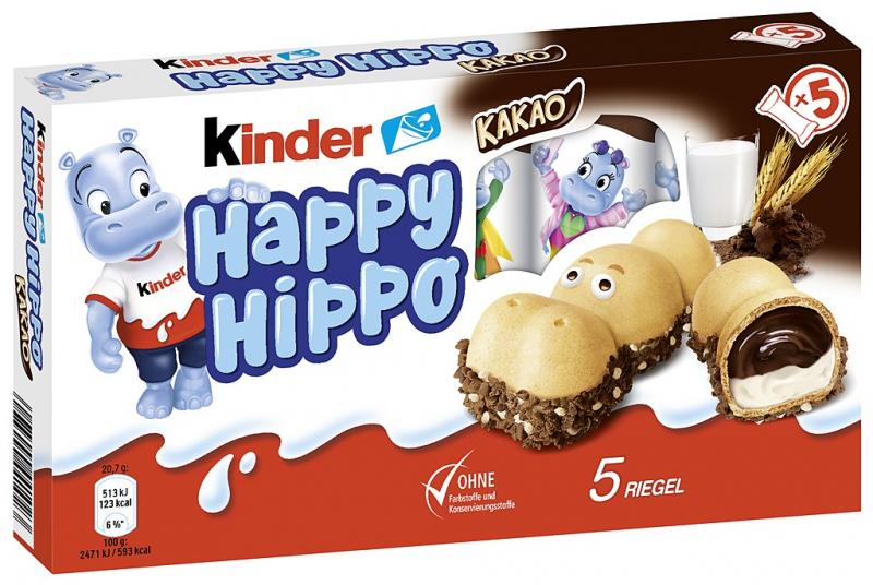 Kinder Happy Hippo Kakao
