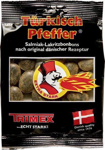 Trimex Türkisch Pfeffer Salmiak-Lakritzbonbons