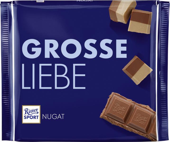 Ritter Sport Grosse Liebe Nugat