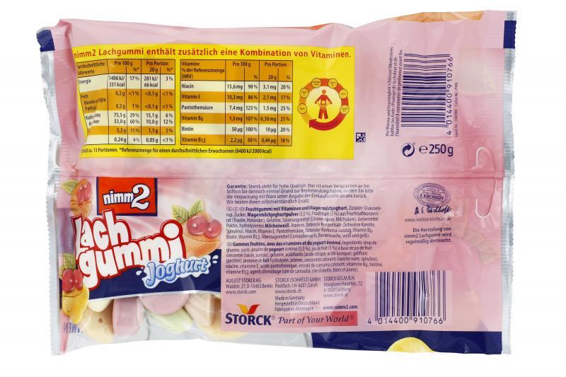 Nimm2 Lachgummi Joghurt