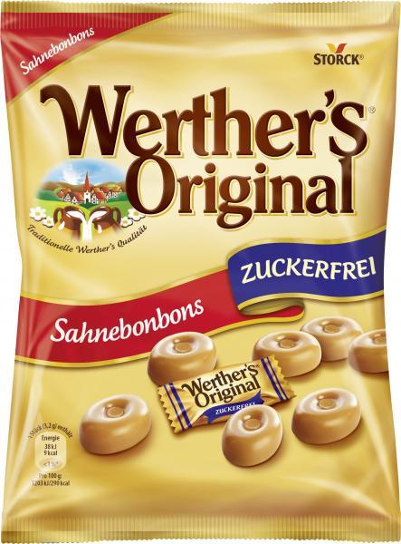 Werther's Original Klassische Sahnebonbons zuckerfrei