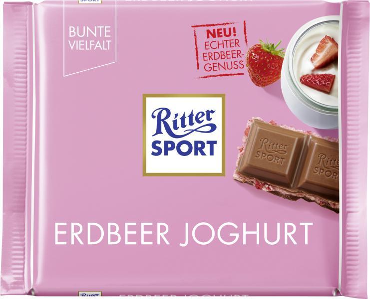 Ritter Sport Bunte Vielfalt Erdbeer-Joghurt
