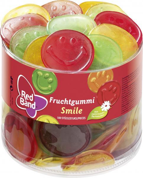 Red Band Fruchtgummi Smile