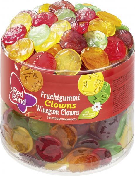 Red Band Fruchtgummi Clowns
