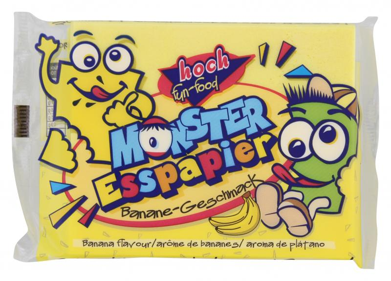 Hoch Fun-food Monster Esspapier