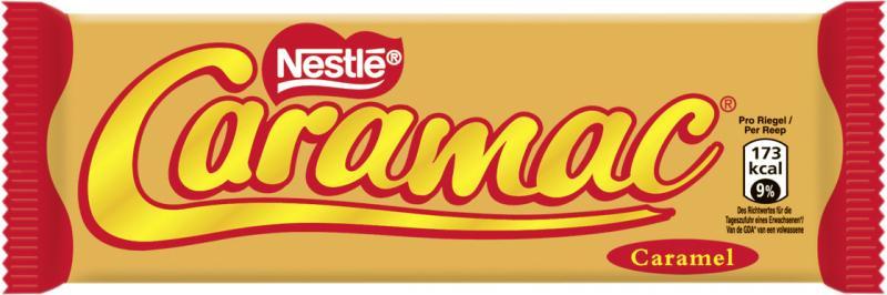 Nestlé Caramac Karamell Riegel