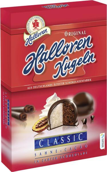 Halloren Original Kugeln Sahne-Cacao