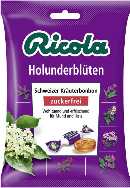 Ricola Holunderblüten zuckerfrei