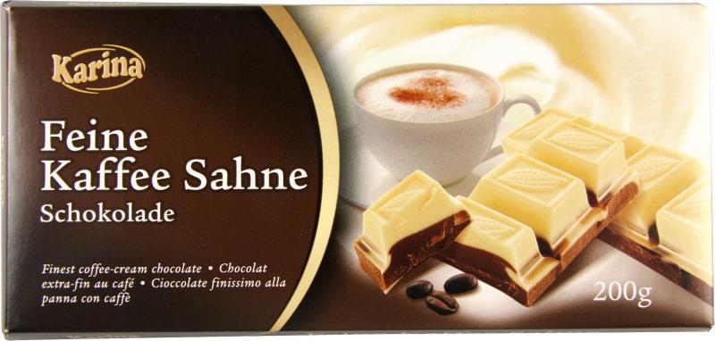 Karina Feine Kaffee Sahne Schokolade