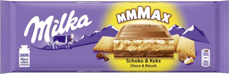 Milka XXL Tafel Schoko & Keks