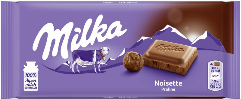 Milka Tafel Noisette