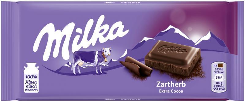 Milka Tafel Zartherb