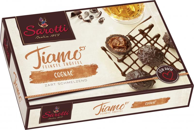 Sarotti Tiamo feinste Trüffel Cognac-Sahne