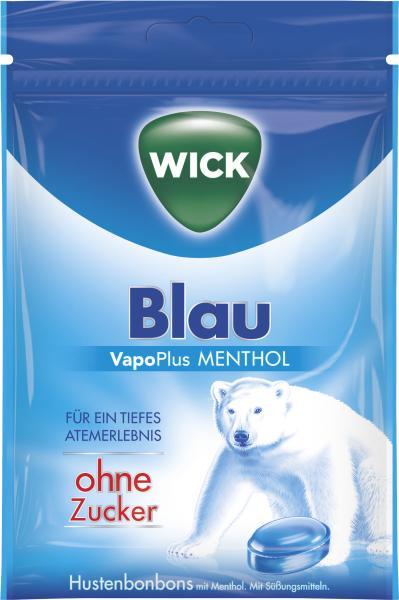 Wick Vapoplus Menthol Hustenbonbons