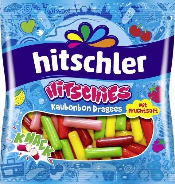 Hitschler Hitschies Kaubonbon Dragees mit Fruchtsaft
