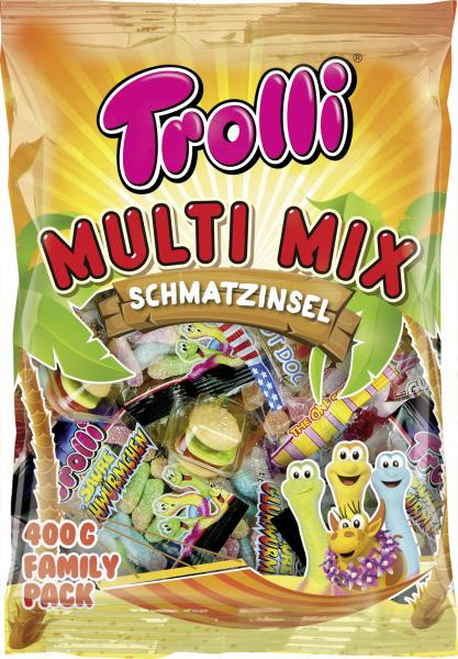 Trolli Multi-Mix Schmatzinsel