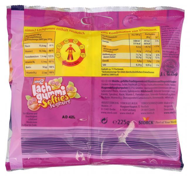 Nimm2 Lachgummi Softies Joghurt