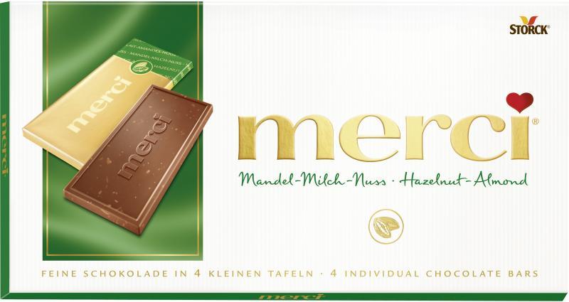 Merci Tafel Mandel-Milch-Nuss