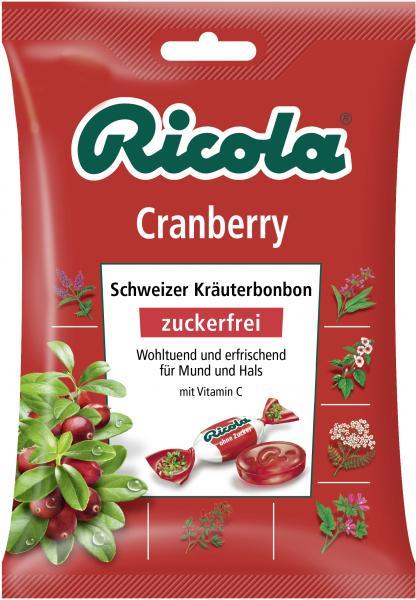 Ricola Cranberry zuckerfrei