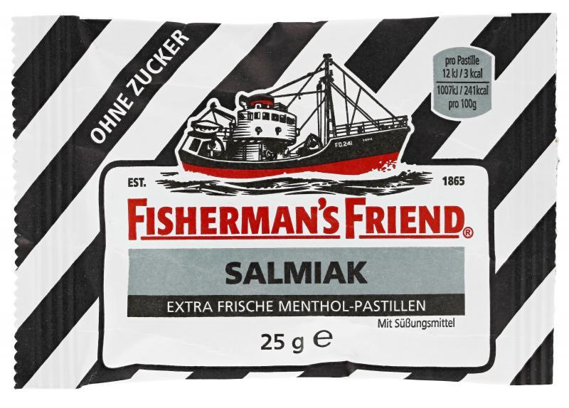Fisherman's Friend Salmiak ohne Zucker