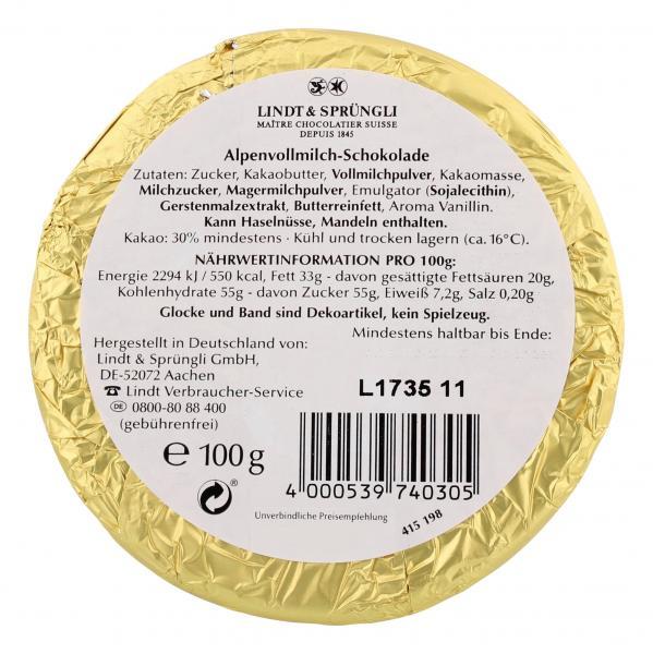 Lindt Gold-Glocke